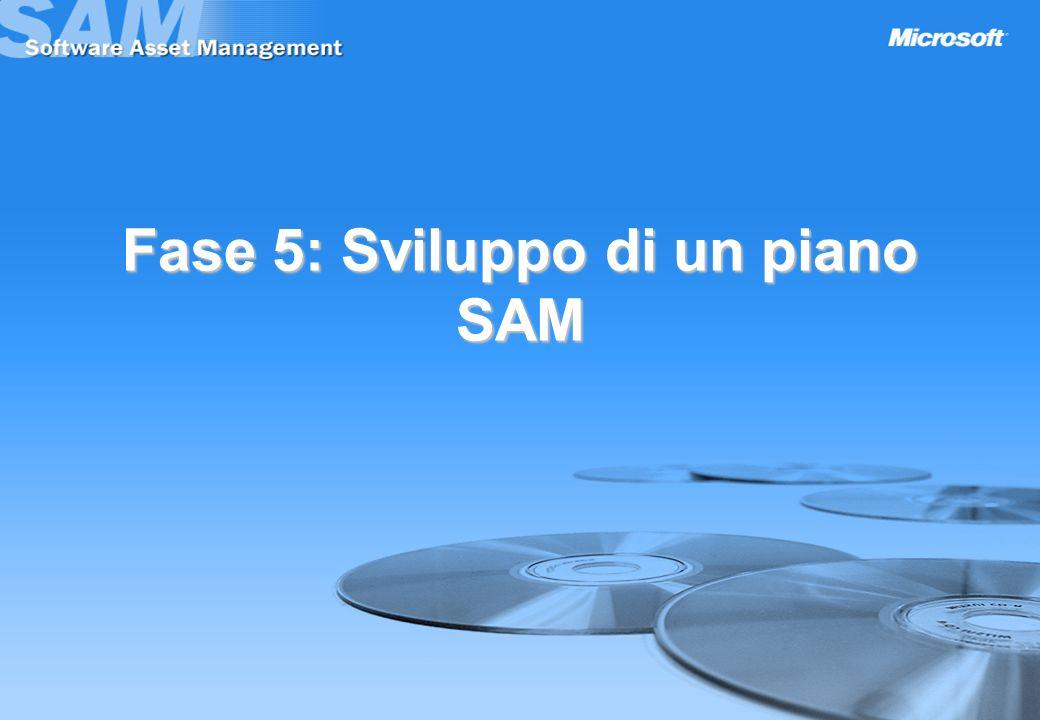 Fase 5: Sviluppo di un piano SAM