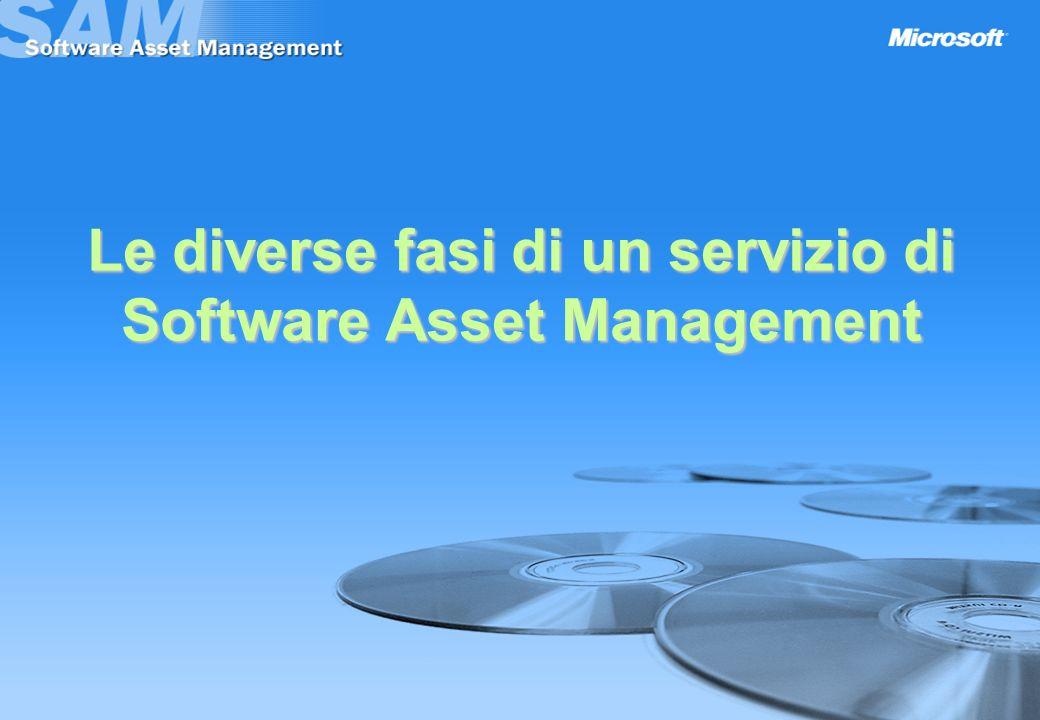 Le diverse fasi di un servizio di Software Asset Management