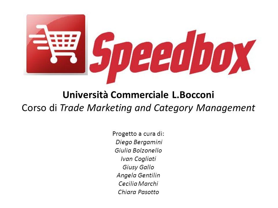 Università Commerciale L.Bocconi Corso di Trade Marketing and Category Management Progetto a cura di: Diego Bergamini Giulia Bolzonello Ivan Cogliati