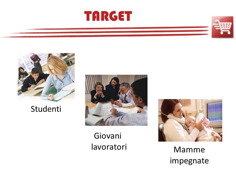 TARGET Studenti Mamme impegnate Giovani lavoratori