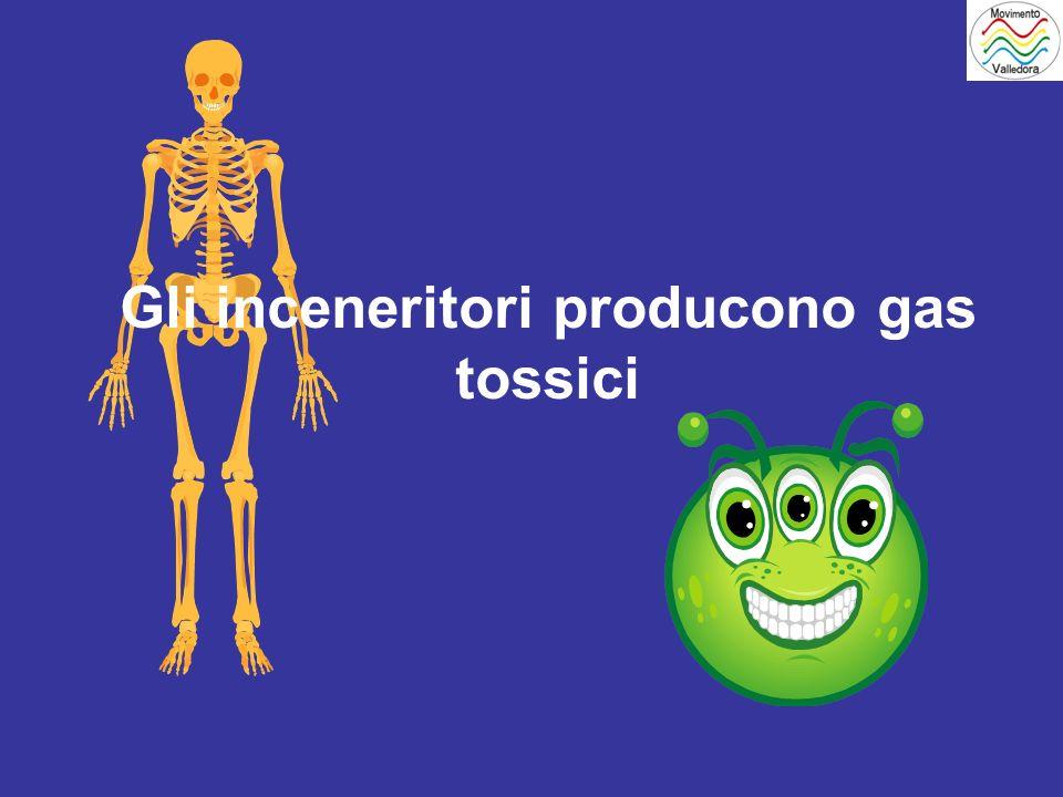 Gli inceneritori producono gas tossici