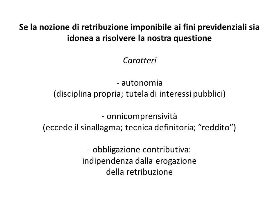 Considerazioni di politica del diritto - Naturalmente, si può anche discutere se non sia opportuno favorire la risoluzione stragiudiziale delle liti anche attraverso la detassazione e decontribuzione delle transazioni (es.