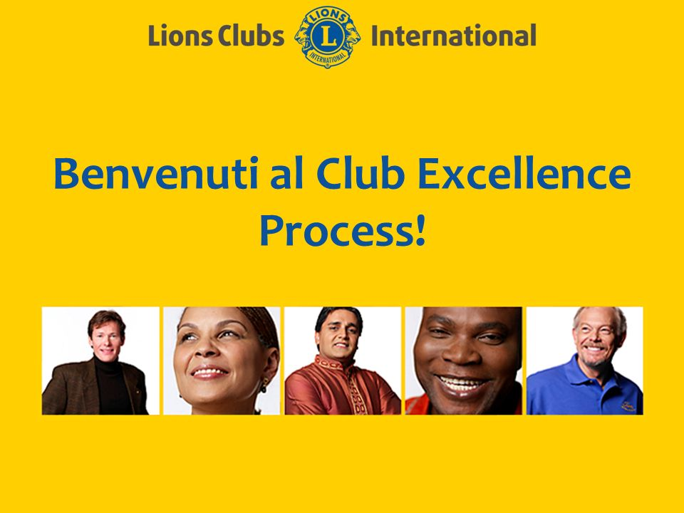 Benvenuti al Club Excellence Process!