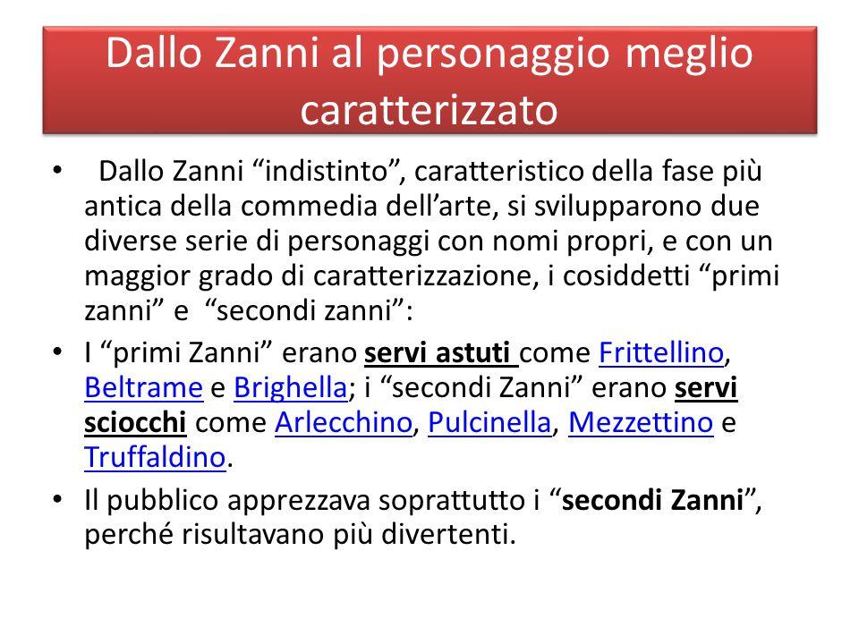 Uno dei primi Zanni: Brighella Brighella, come Arlecchino, è una maschera bergamasca.