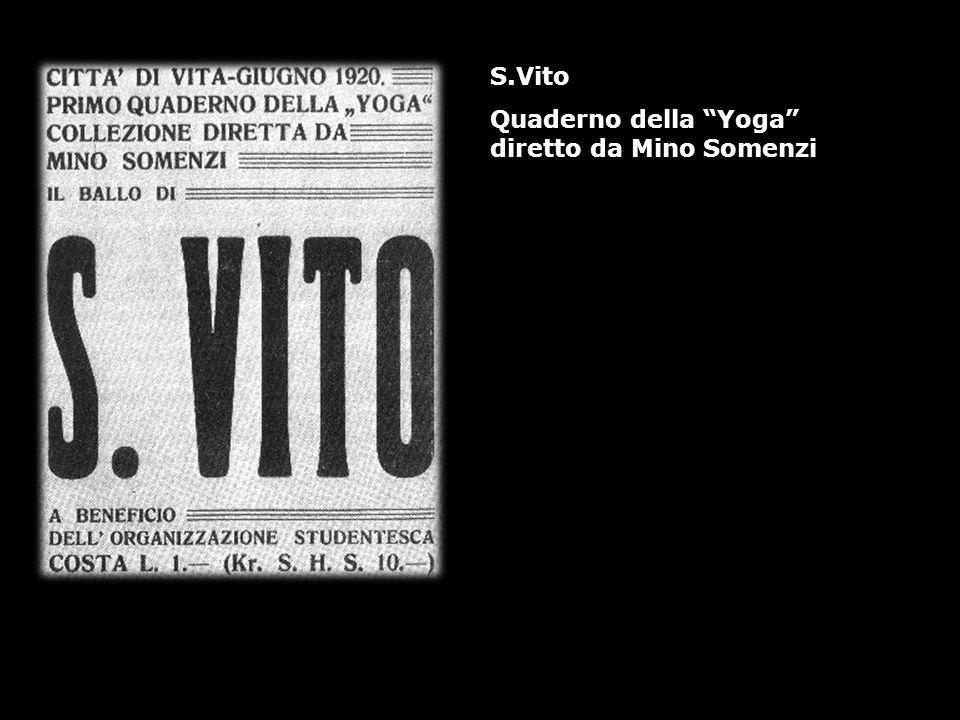 S.Vito Quaderno della Yoga diretto da Mino Somenzi
