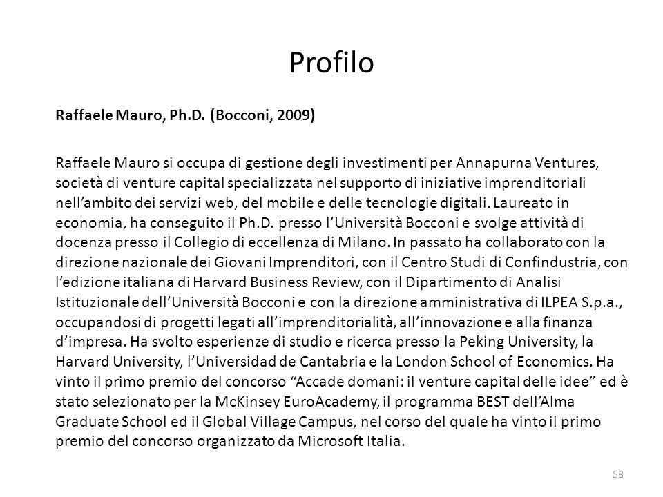 Profilo Raffaele Mauro, Ph.D.