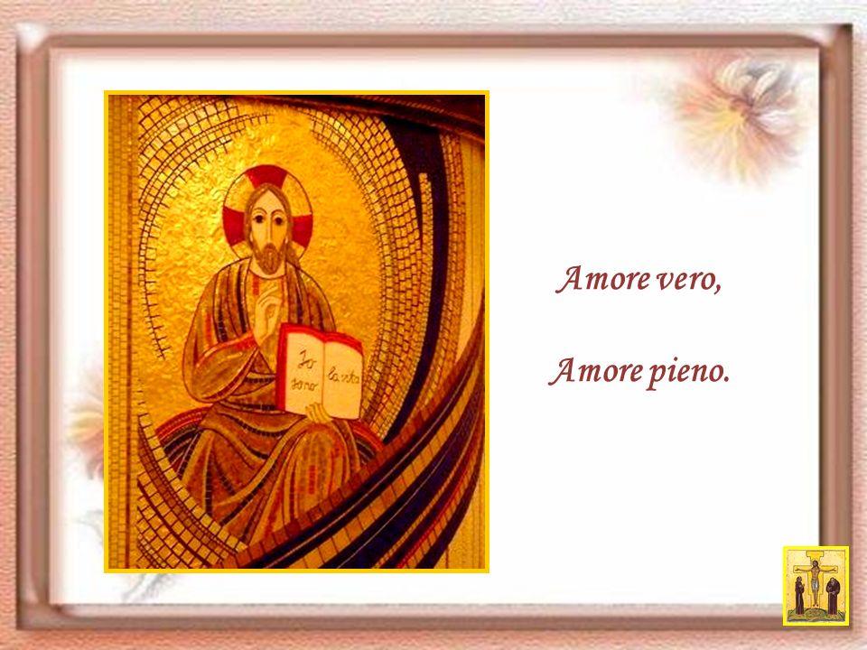 Nato nella povertà di Betlemme per farci dono della ricchezza dello Spirito Santo, che è Amore,