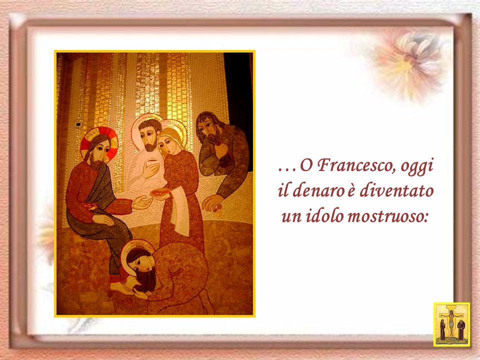 O Francesco, lorgoglio spesso ci allontana da Betlemme; ma quando siamo lontani da Betlemme, siamo lontani anche da Cristo.