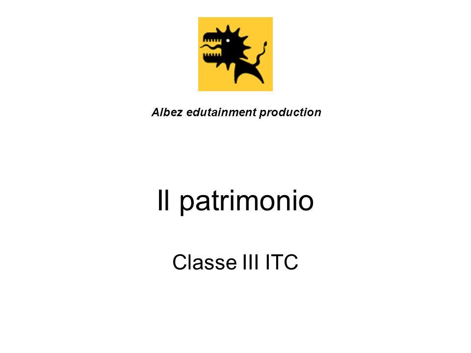 Il patrimonio Classe III ITC Albez edutainment production