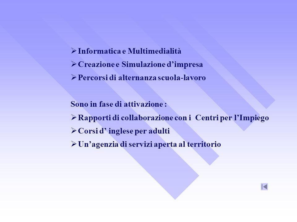 Protocolli dIntesa SISSIS dellUniversità di Messina dal 2002 SISSIS di Messina per sostegno dal 2003-2004 SSIS di Venezia per il sostegno dal 2006/2007 SISSIS dellUniversità di Rende per i tirocinanti Trinity College dal 2000 per esami ISE (Scritti e orali)e ESOL (orali)
