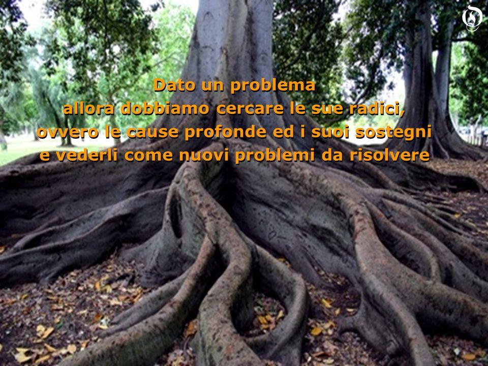 Se vi è una sola radice finalmente sappiamo da dove cominciare Se vi è una sola radice finalmente sappiamo da dove cominciare O