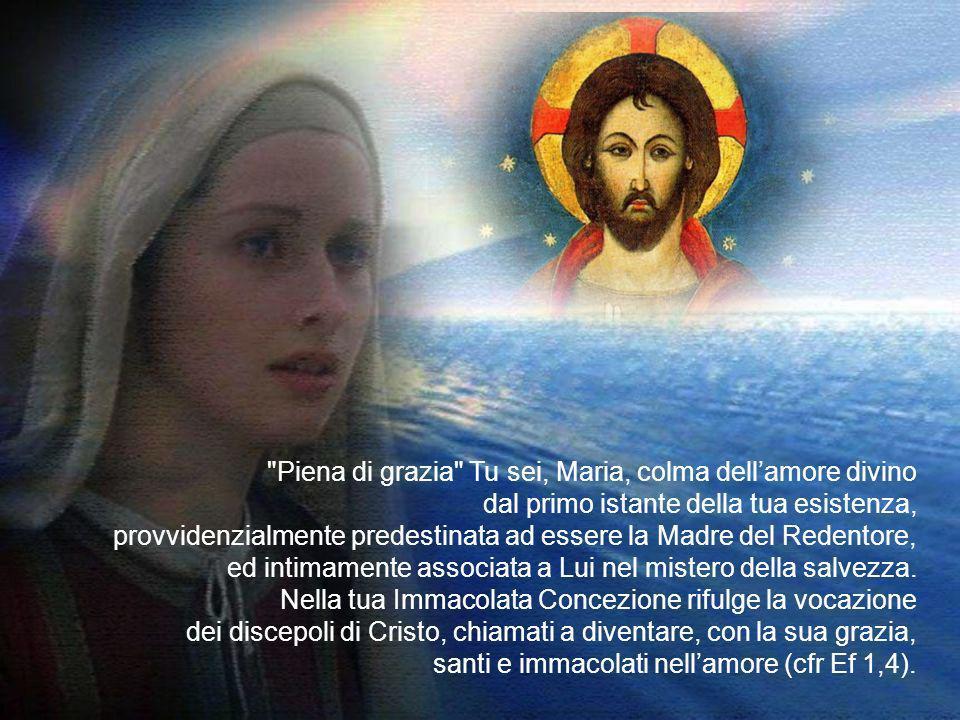Anche questanno, ci ritroviamo con amore filiale ai piedi di questa tua immagine per rinnovarti lomaggio della comunità cristiana e della città di Rom