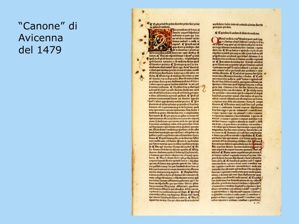 Canone di Avicenna del 1479