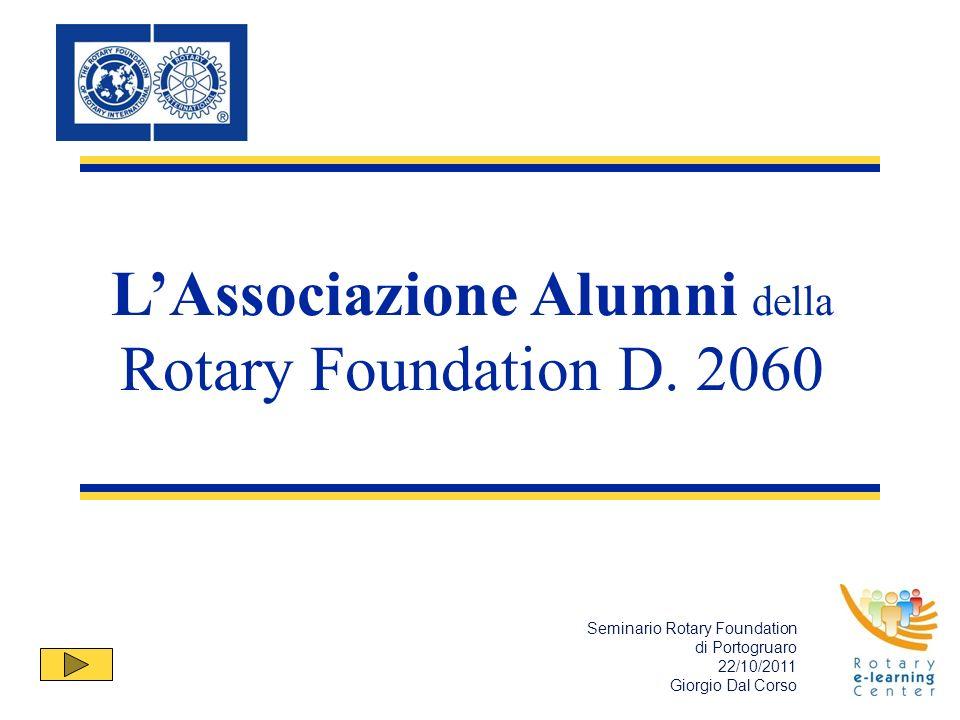 LAssociazione Alumni della Rotary Foundation D.