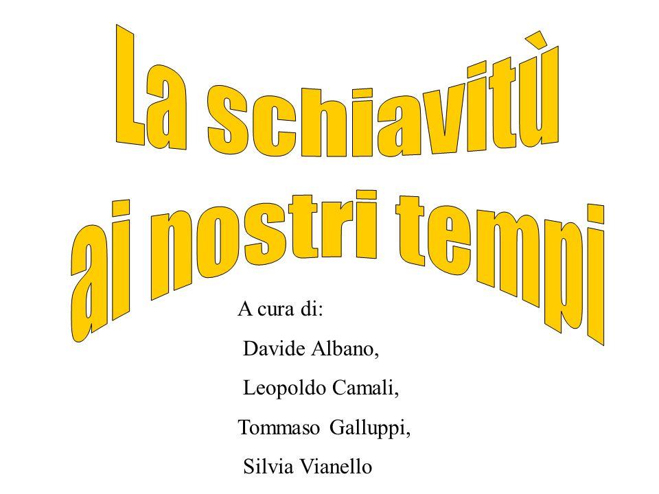A cura di: Davide Albano, Leopoldo Camali, Tommaso Galluppi, Silvia Vianello