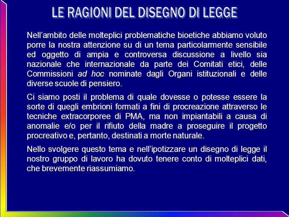 In Italia è centrale il dibattito sui diritti delluomo e sulle biotecnologie.