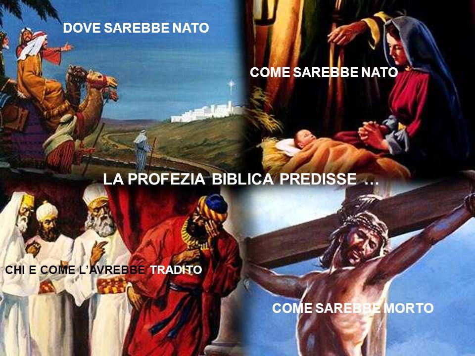 DOVE SAREBBE NATO COME SAREBBE NATO CHI E COME LAVREBBE TRADITO COME SAREBBE MORTO LA PROFEZIA BIBLICA PREDISSE …