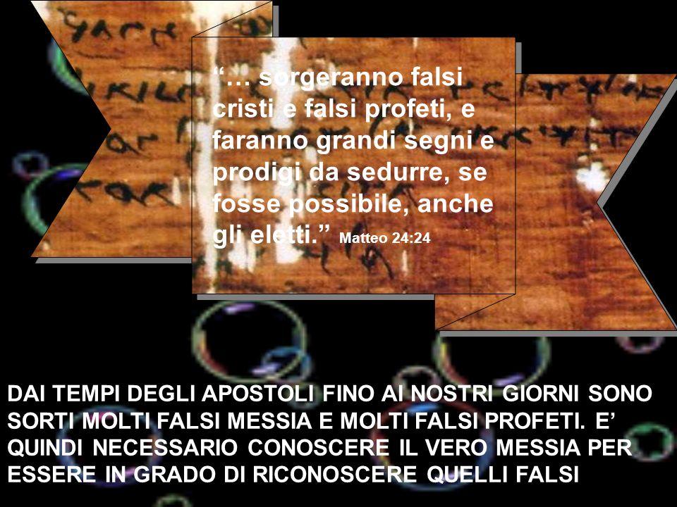 Ma, la maggior parte delle profezie, oltre 40, di loro, si sono adempiute alla conclusione di vita del Cristo.