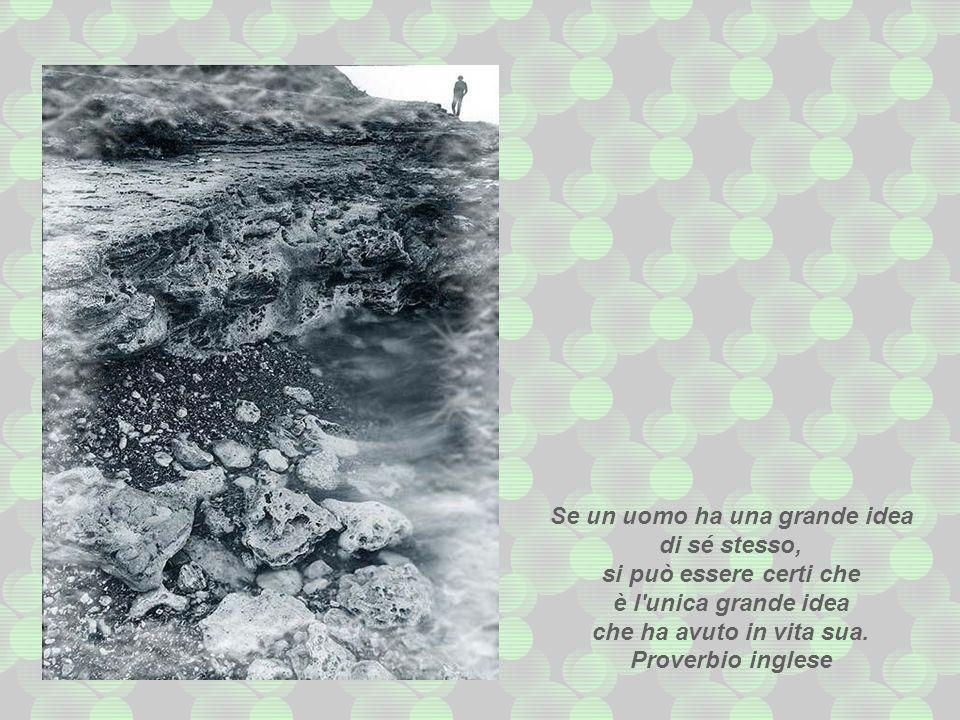 Quando avrete abbattuto l'ultimo albero, quando avrete pescato l'ultimo pesce, quando avrete inquinato l'ultimo fiume, allora vi accorgerete che non s