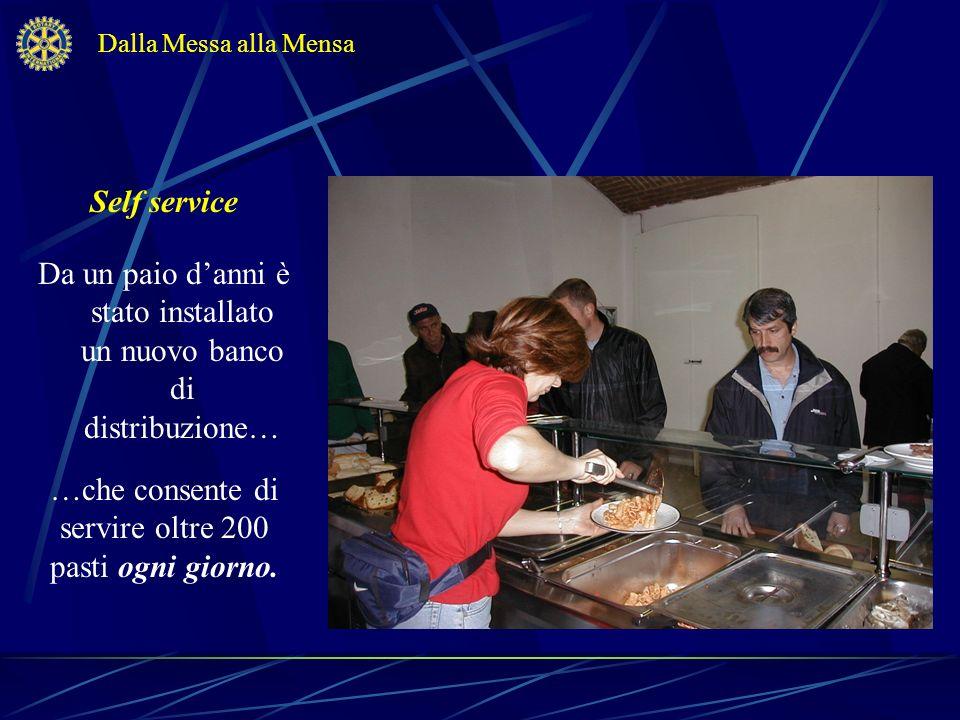 Il menu Il pranzo consiste in: Dalla Messa alla Mensa …un primo piatto....