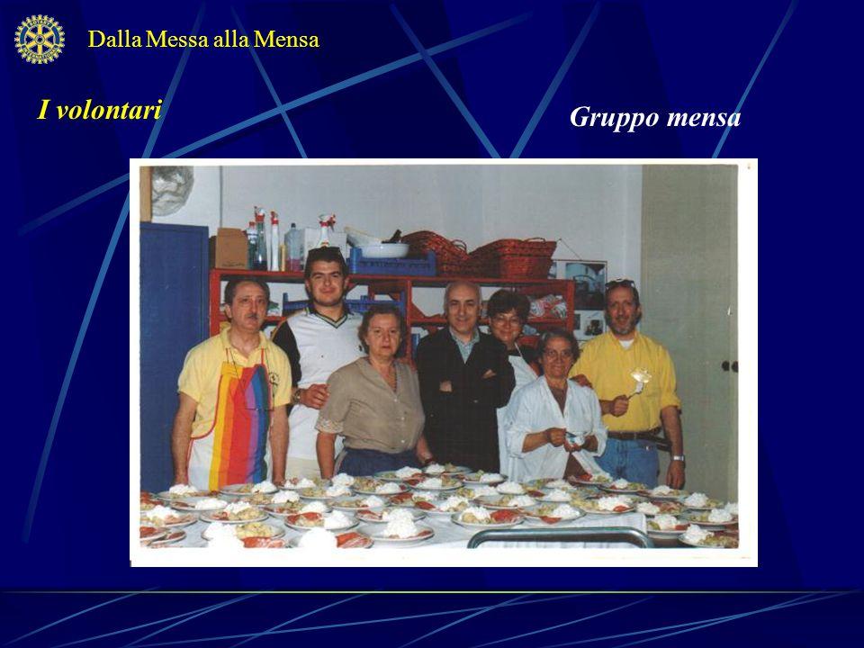 Gli ospiti … più affezionati Dalla Messa alla Mensa