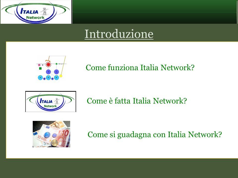 Come funziona Italia Network? Come si guadagna con Italia Network? Introduzione Come è fatta Italia Network?