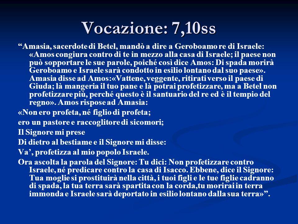 Castigo 12 Perciò ti tratterò così, Israele.