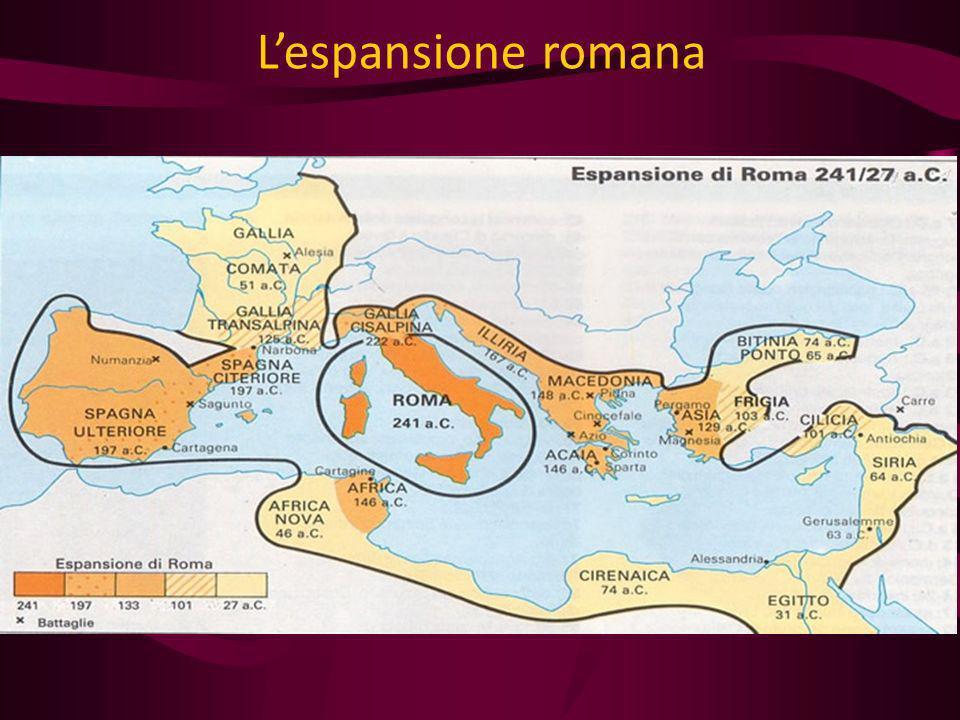 Lespansione romana