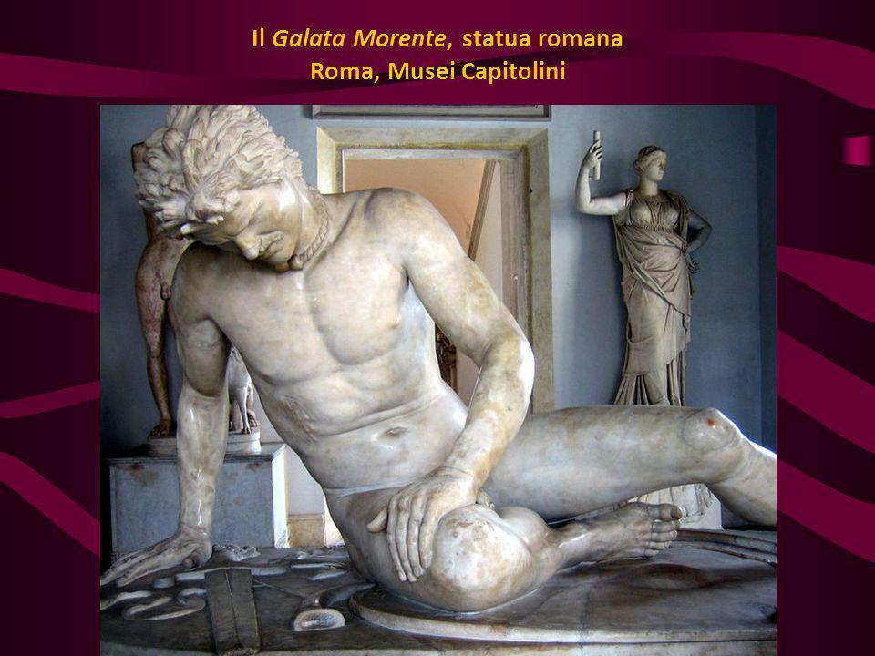Il Galata Morente, statua romana Roma, Musei Capitolini
