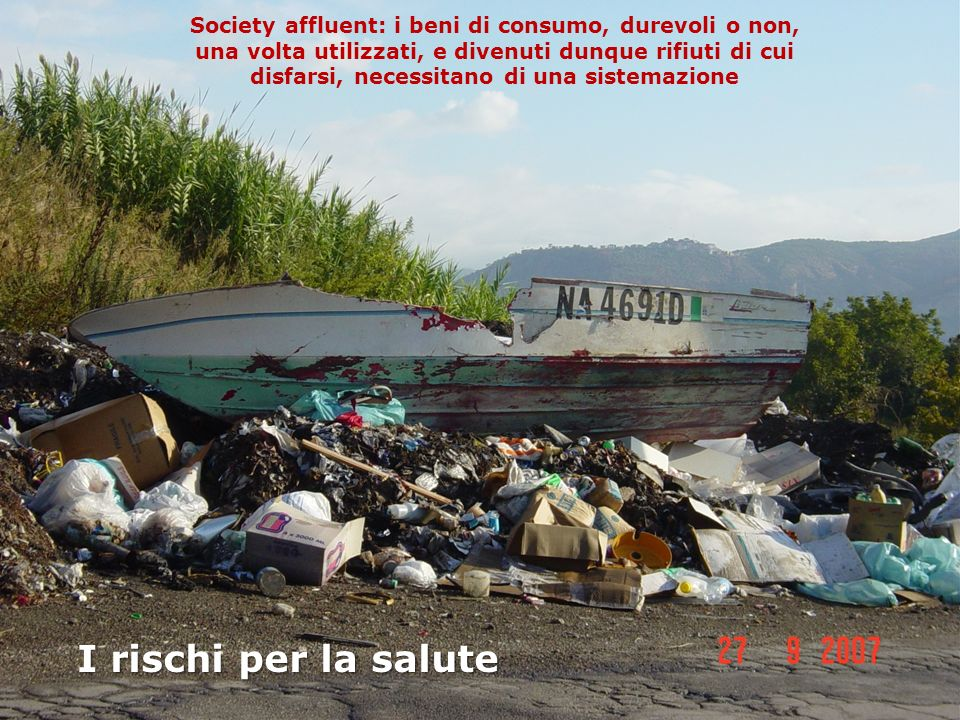Kathryn Senior and Alfredo Mazza: Italian Triangle of death linked to waste crisis.