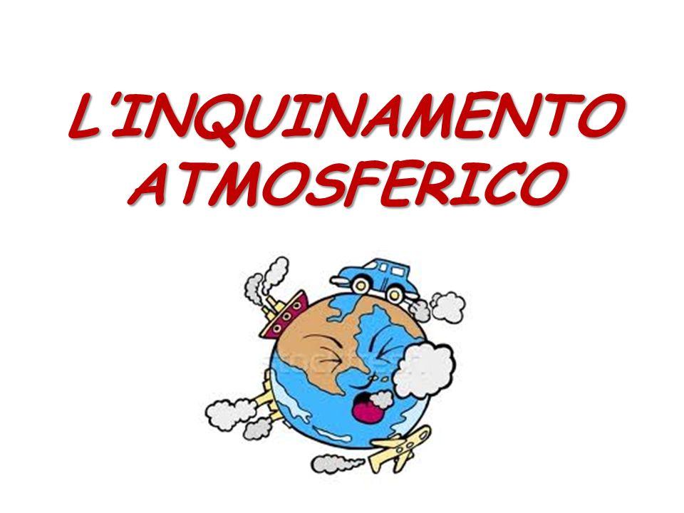 LINQUINAMENTO ATMOSFERICO