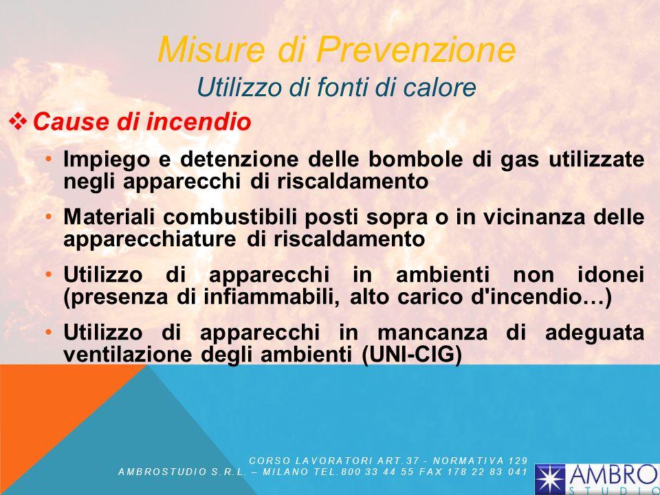 Misure di prevenzione : gli impianti al cui interno si possono produrre polveri devono essere, per quanto possibile, stagni alla polvere, avere volume