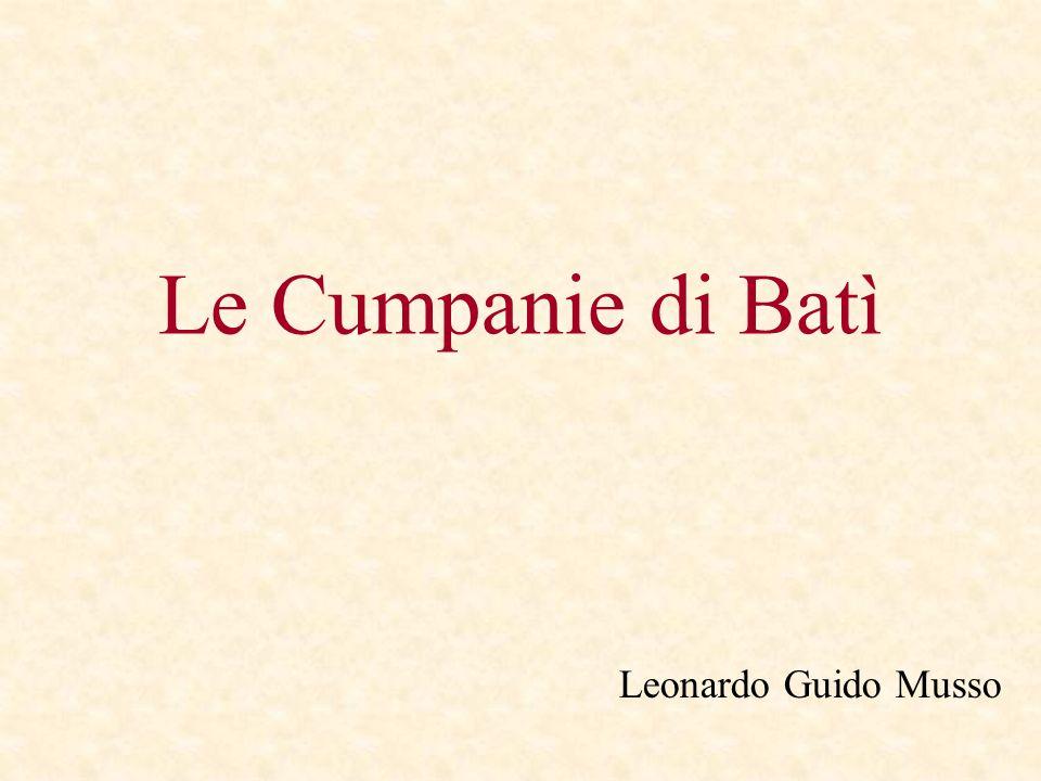 Le Cumpanie di Batì Leonardo Guido Musso