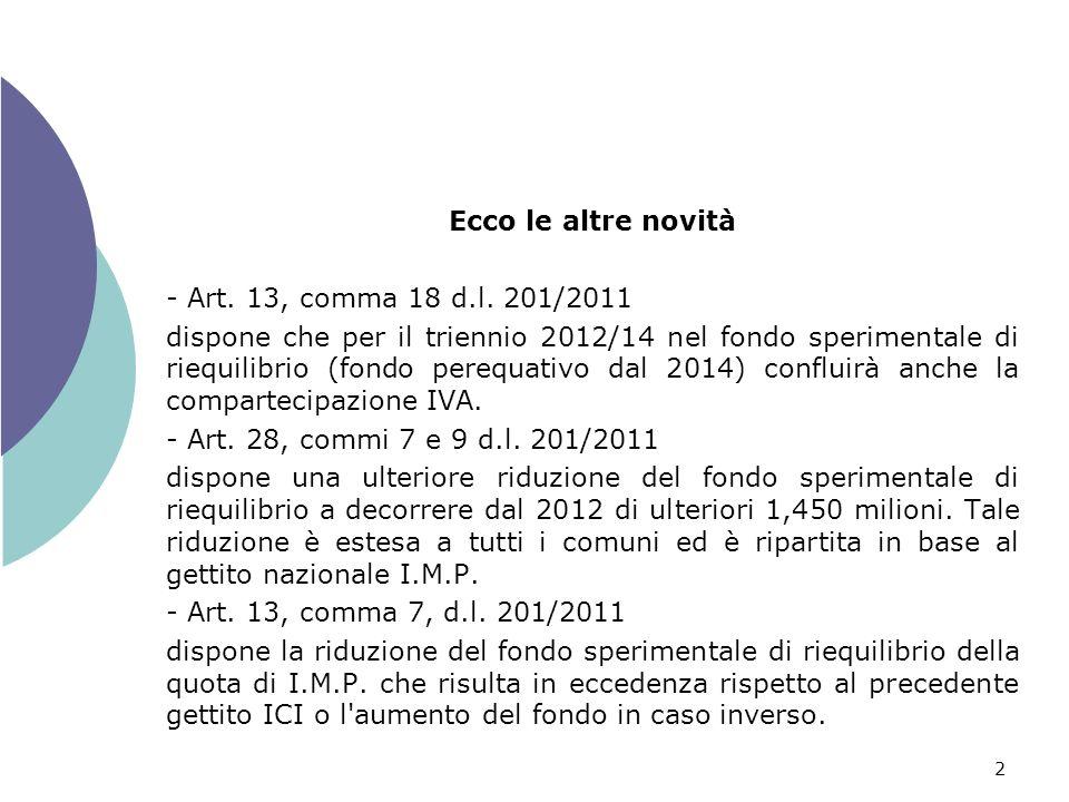 3 - Art.13, comma 13, d.l.