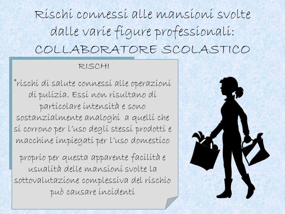 RISCHI ®stress: i compiti relazionali, soprattutto in rapporto alla delicata funzione di supporto a studenti portatori di handicap introducono element