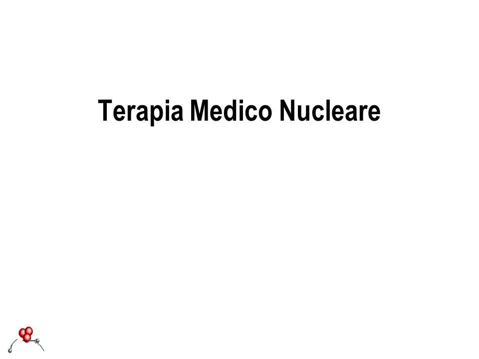 In Medicina Nucleare vengono utilizzati ai fini terapeutici radionuclidi beta- emittenti.