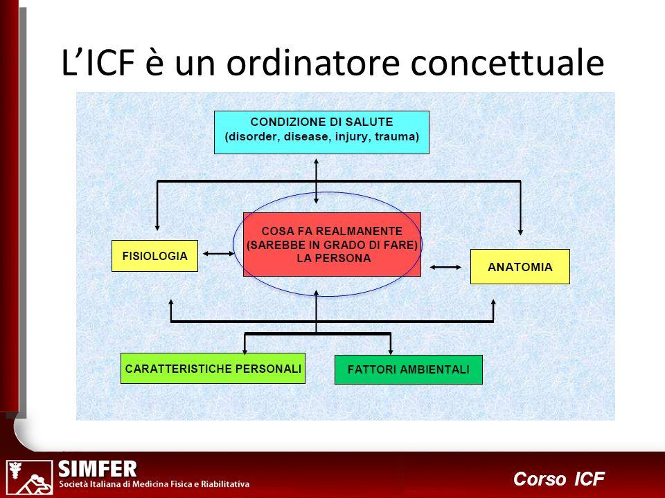 6 Corso ICF LICF è un ordinatore concettuale