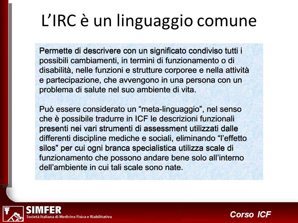 8 Corso ICF LIRC è un linguaggio comune