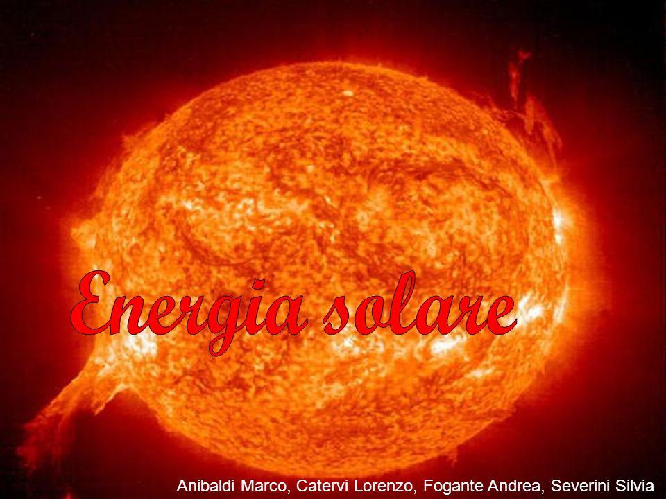 Indice Storia Tecnologia Utilizzi Costi/kw Impatto ambientale Celle solari organiche