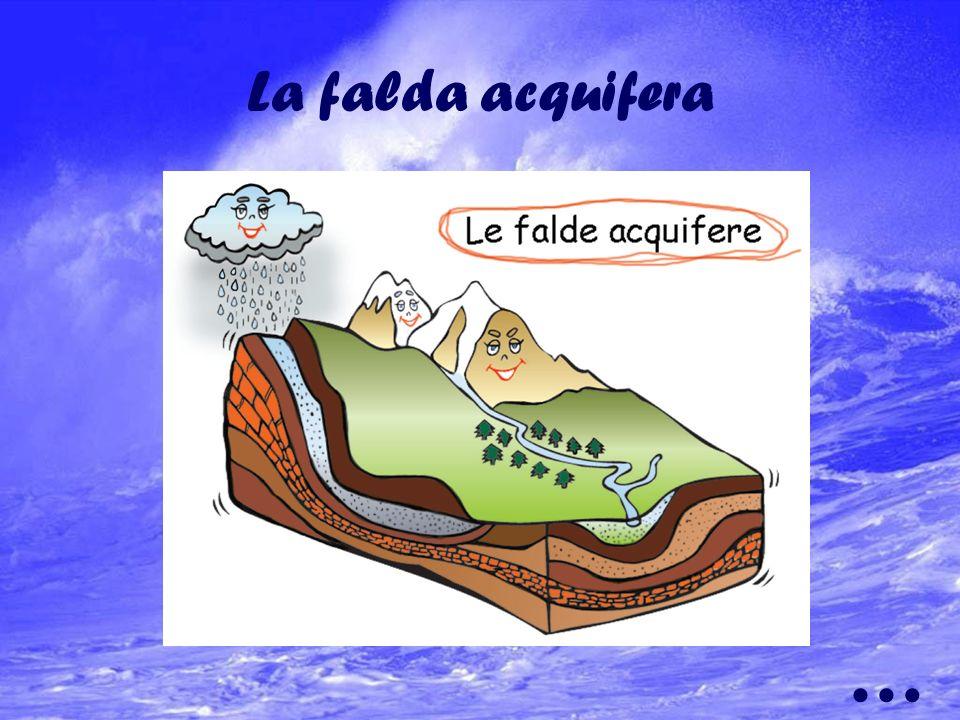 Lacqua potabile prelevata delle falde acquifere o dalle sorgenti viene condotta ad ogni singolo cittadino attraverso una serie di elementi(centrali id