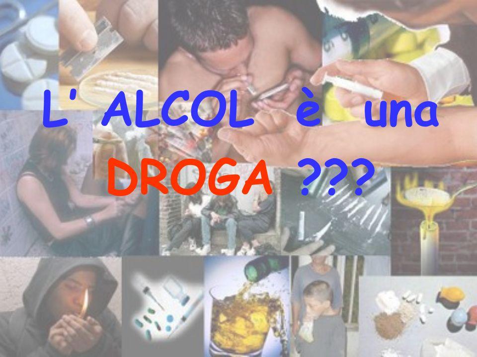 L ALCOL è una DROGA ???
