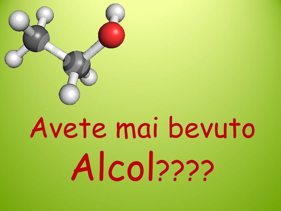 Avete mai bevuto Alcol ????