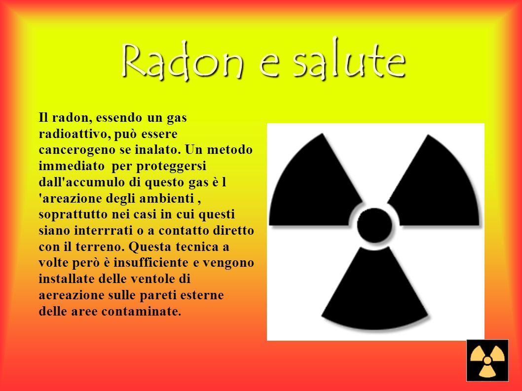 La misurazione Per determinare la concentrazione di Radon presente in un locale si utilizzano appositi rivelatori.