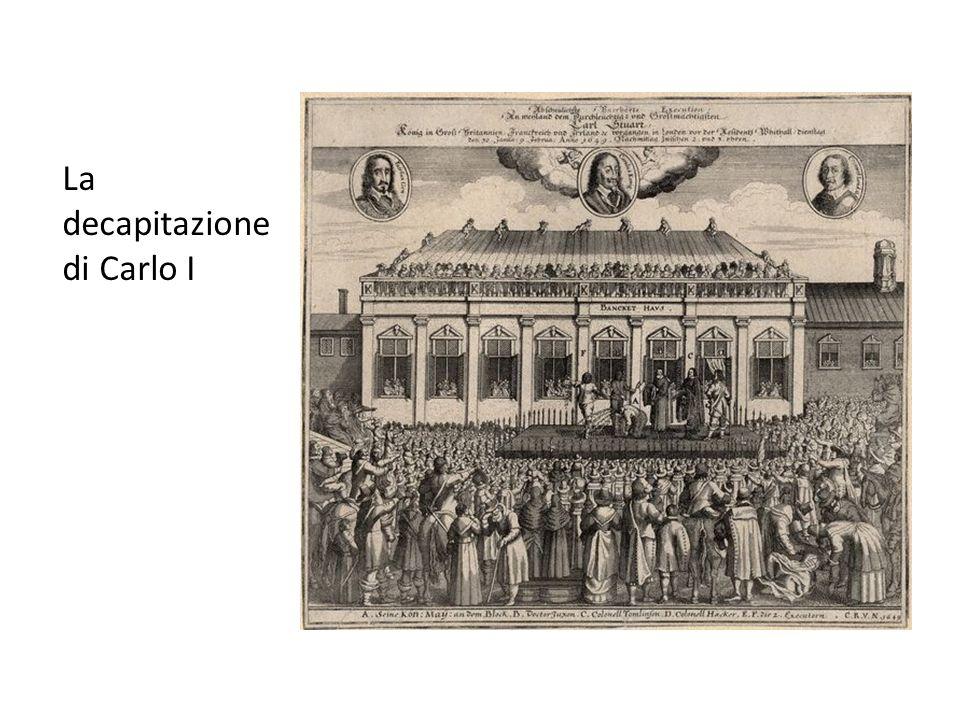 La decapitazione di Carlo I