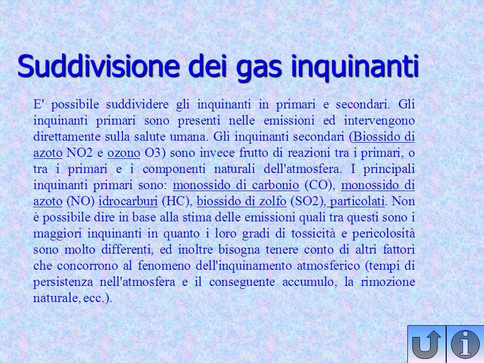 Quali Gas Immettiamo nellatmosfera
