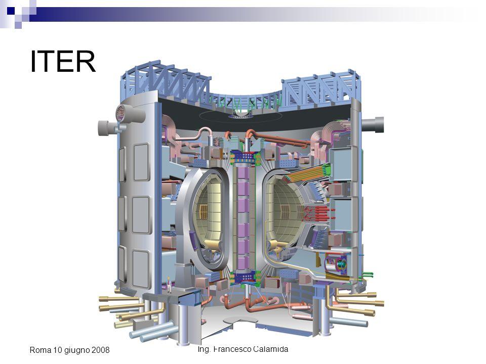 Ing. Francesco Calamida Roma 10 giugno 2008 ITER