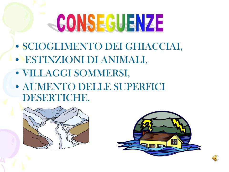 LECCESSIVO CONSUMO DI COMBUSTIBILI FOSSILI COME IL PETROLIO E IL CARBONE.
