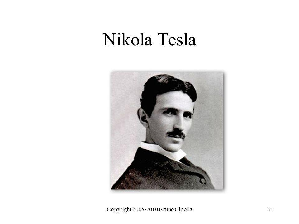 Copyright 2005-2010 Bruno Cipolla31 Nikola Tesla
