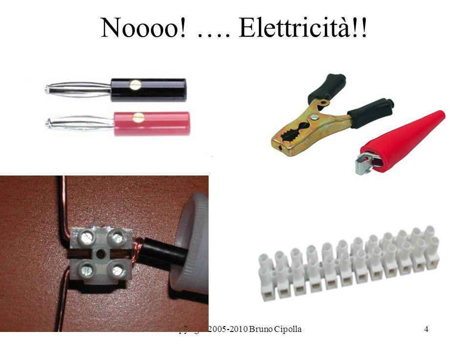 4 Noooo! …. Elettricità!!