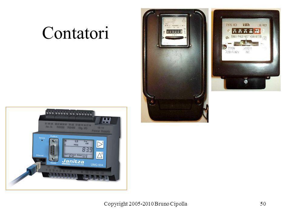 Copyright 2005-2010 Bruno Cipolla50 Contatori
